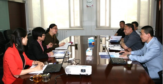 东北空管吉林分局金宇波副局长来京考察中航材招标公司